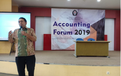 Accounting forum: Dealing with qualitative research in accounting – Dwi Cahyo Utomo, MA., Ph.D., Ak., CA.
