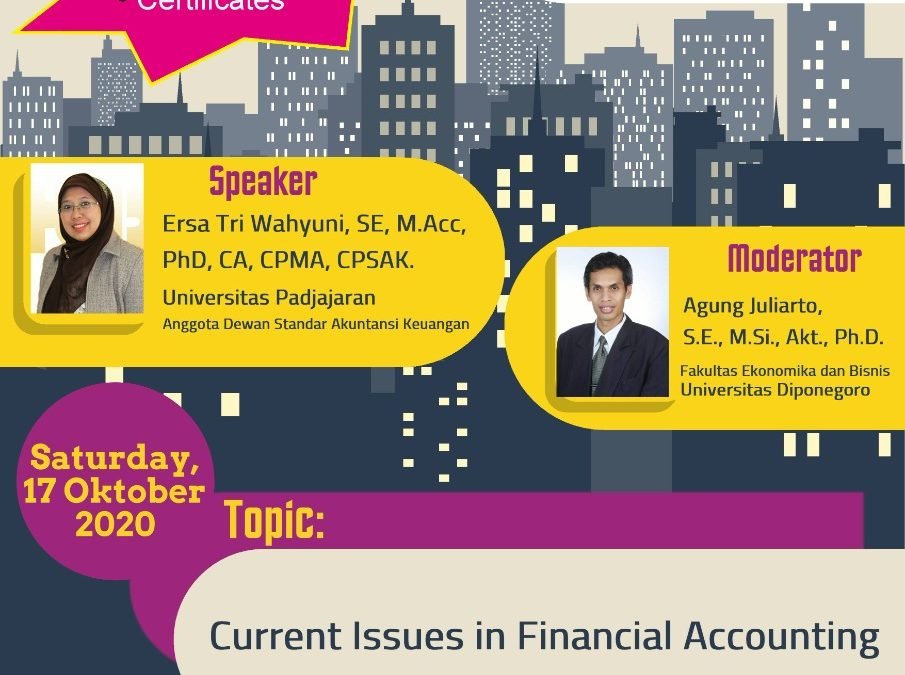 Accounting Forum October 2020: Current Issues in Financial Accounting